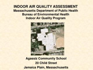 Agassiz Community School 20 Child Street Jamaica Plain, Massachusetts