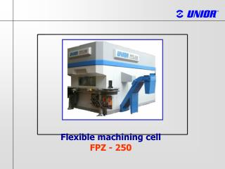 Flexible machining cell F PZ  - 250