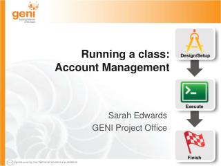 Running a class: Account Management