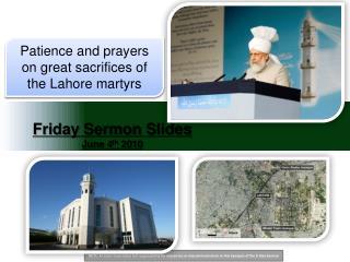 Friday Sermon Slides June 4 th 2010