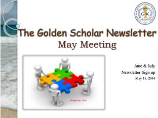 June &  July  Newsletter Sign up  May 18, 2014
