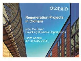 Regeneration Projects in Oldham