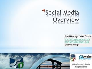 Social Media Overview
