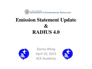 Emission Statement Update & RADIUS 4.0