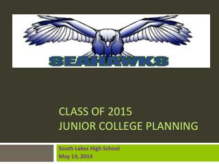 Class of 2015 Junior College Planning