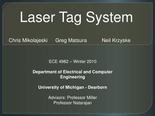 Laser Tag System