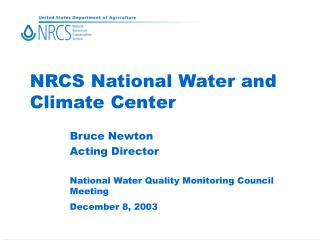 NRCS National Water and Climate Center