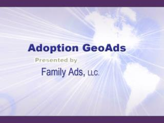 What Are Adoption GeoAds?