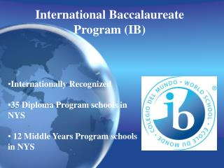 International Baccalaureate Program (IB)