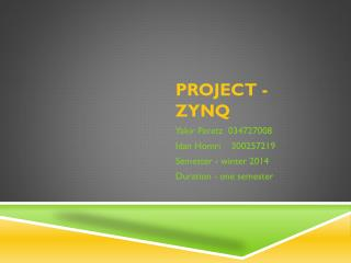 Project - ZYNQ