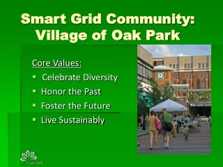 Smart Grid Community:  Village of Oak Park