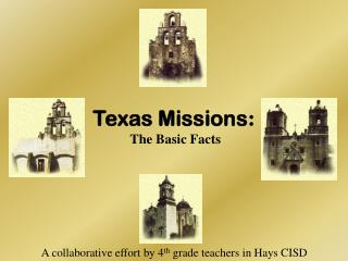 Texas Missions :