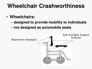 Wheelchair Crashworthiness