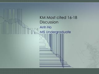 KM Most cited 16-18 Discussion