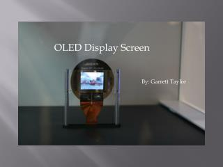 OLED Display Screen