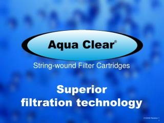 String-wound Filter Cartridges