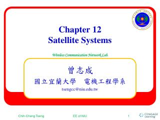 Chapter  12 Satellite Systems