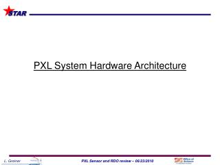 PXL System Hardware Architecture