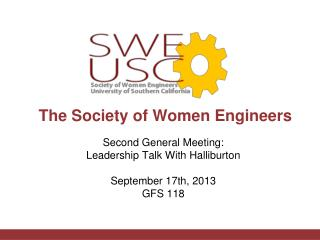 The Society of Women Engineers