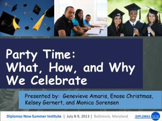 Party Time: What, How, and Why  We Celebrate