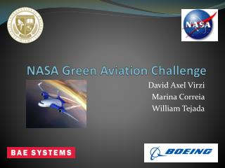 NASA Green Aviation Challenge
