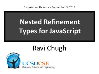 Nested Refinement Types for JavaScript