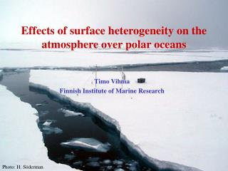 Effects of surface heterogeneity on the atmosphere over polar oceans