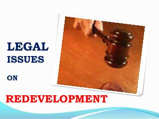 LEGAL  ISSUES  ON