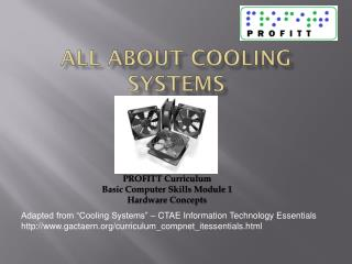 All About Cooling  Systems