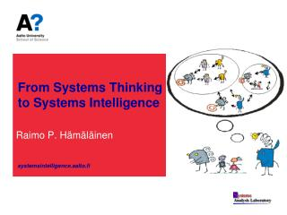 From Systems Thinking  to Systems Intelligence
