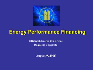Energy Performance Financing
