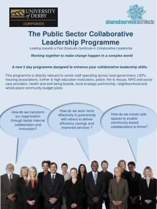 The Public Sector Collaborative Leadership Programme