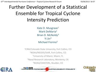 Further Development of a Statistical Ensemble for Tropical Cyclone Intensity Prediction