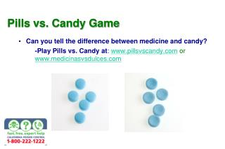 Pills vs. Candy Game