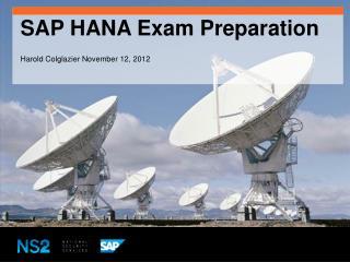 SAP HANA Exam Preparation