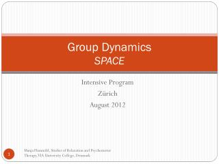 Group Dynamics SPACE