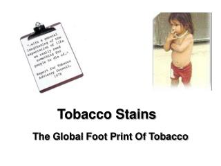 Tobacco Stains