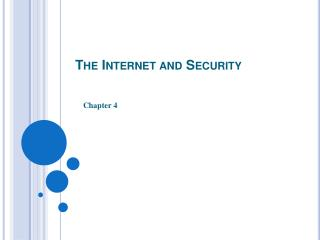 The Internet and Security