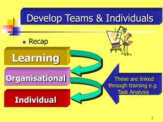 Develop Teams & Individuals