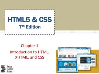 HTML5 & CSS 7 th Edition