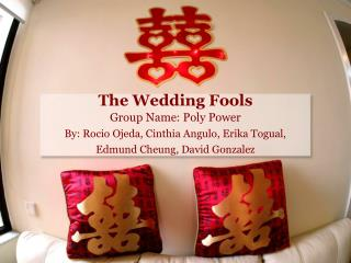The Wedding Fools