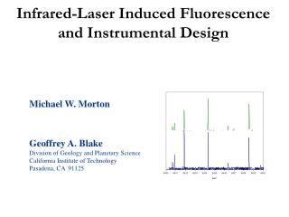 Infrared-Laser Induced Fluorescence and Instrumental Design