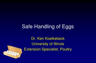 Safe Handling of Eggs