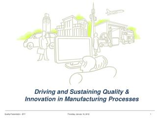 Driving and Sustaining Quality & Innovation in Manufacturing Processes