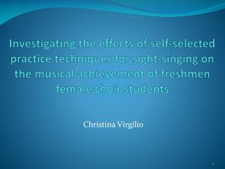 Christina Virgilio