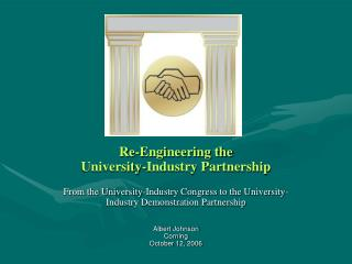 Re-Engineering the  University-Industry Partnership
