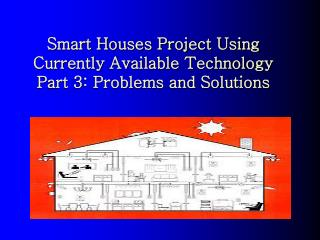 Smart Houses Project Using  Currently Available Technology Part 3: Problems and Solutions