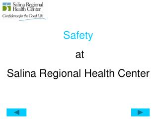 Safety at Salina Regional Health Center