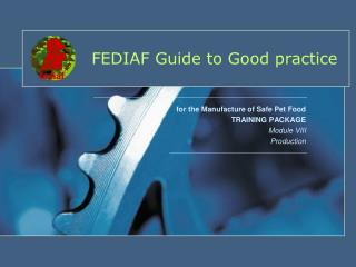 FEDIAF Guide to Good practice