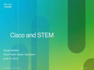 Cisco and STEM